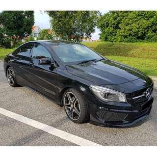 Mercedes Benz CLA 180 long term available