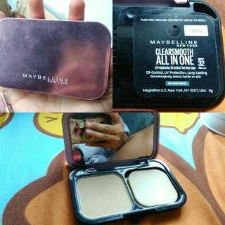 Maybelline Clearsmooth 02 Nude beige