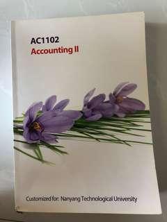 AC1102 Accounting 2