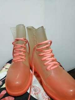 Plastic shoes. Size 8