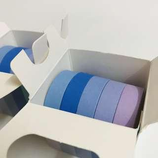 Washi Tape Set - 1cm (5 in 1)