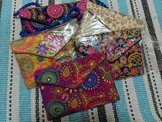 印度繡花小包