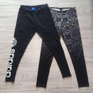 Adidas leggings set