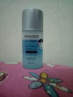 Wardah makeup remover eye & lip
