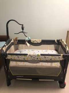 BB網床 多功能可摺疊嬰兒床