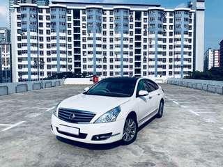 Nissan Teana 2.5 XV CVT with Sunroof Auto