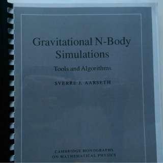 Gravitational N-Body Simulations - Sverre Aarseth