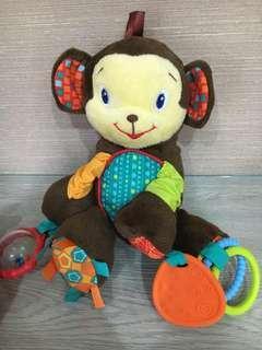 Bright starts rattle - monkey