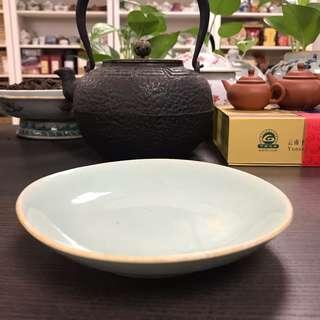 清代豆青盤#98-1-2,14.5*2.8cm左右,品相基本完整