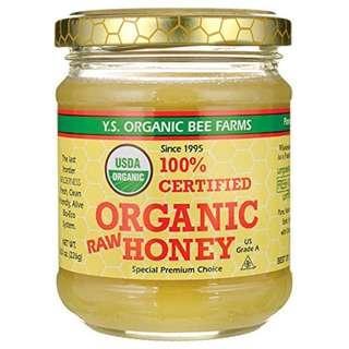 有機 (細) 蜂蜜YS Eco Bee Farms Organic Raw Honey 8oz 726635121261