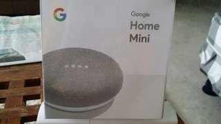 Brand new Google home mini chalk