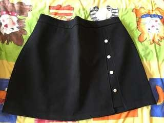 🧧Black high waist skirt