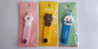 Earpiece Winder Earphone Earbuds Tie Cute Cartoon