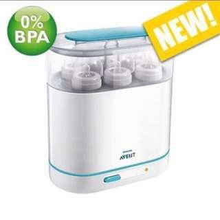 Philips Avent 3-in-1 Steriliser 蒸奶樽機奶樽消毒器