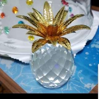 Swarovski 水晶擺設 大菠蘿 EXCELLENT CONDITION