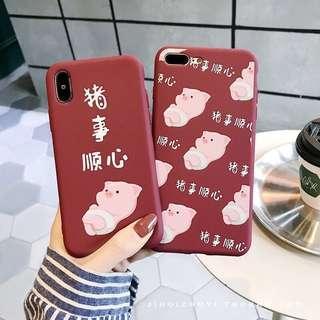 🚚 (PO) CNY piglet iPhone case
