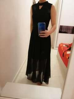 Dinner Black Long Dress