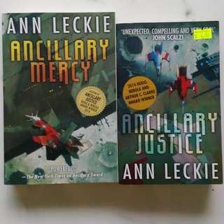 The Ancillary Mecry & The Ancillary Justice - Ann Leckie