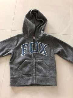 12-18mth Fox baby jacket hooded