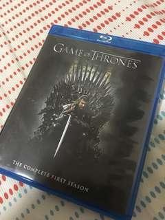 權力遊戲 第一季 藍光 港版 game of thrones season 1 Blu-ray