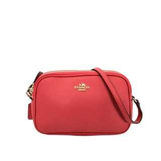 Coach Crossbody Pouch in Pebbled Leather