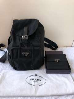 Prada Bag and Wallet set
