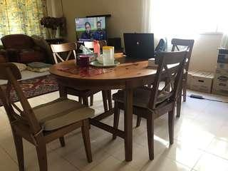 Dining Table Set (6 seater)