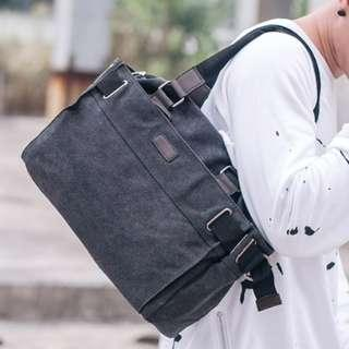 Utilitarian Messenger Shoulder Sling Duffel Bag