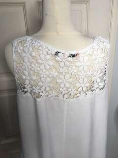 Plus Size top with floral detailing