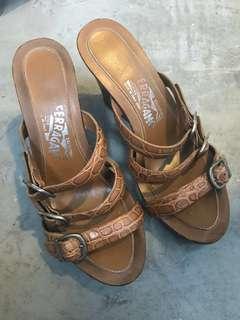 Ferragamo wedge heel