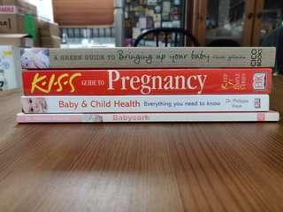Pregnancy & Childcare books