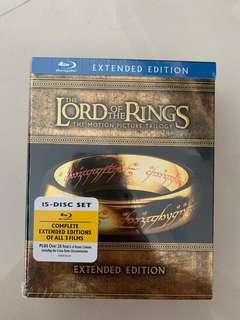 Lord of the Rings Blu Ray collector set
