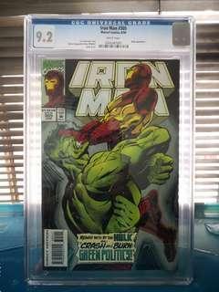 CGC Marvel Iron Man Comics