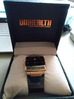 Jam unihealth rantai full stainless steel