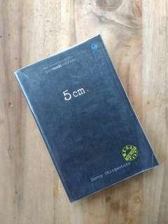 Preloved Novel 5 cm oriii