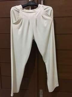 Nett. Bubble pants white