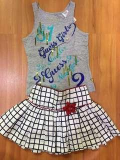 Baby Guess Top with Skirt