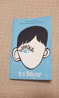 Wonder R.J Palacio book