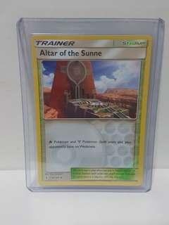 Altar of the Sunne (Reverse Holo)