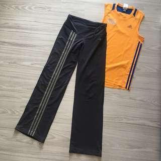Adidas yoga/track pants set❗️