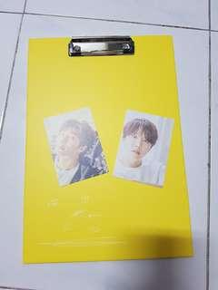 Bts Official Exhibition Clipboard & Pcs
