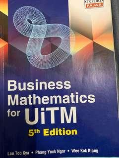 Business Mathematic for Uitm