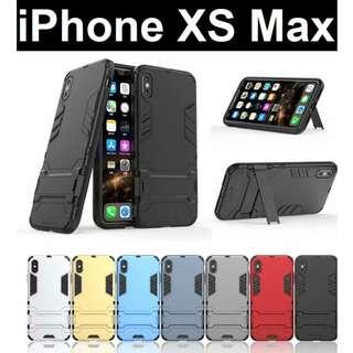 iPhone XS Max / XR / XS / X Iron Man Stand Case