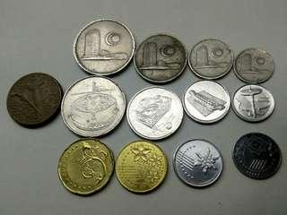 Coins from Malaysia