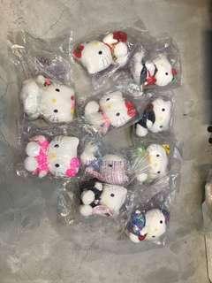 Hello Kitty set of ten
