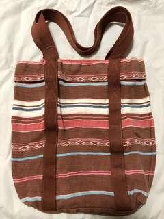 全新NEW [💯正品authentic] American Eagle Tote Bag 民族風 環保袋 39cm NEW