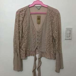 BNEW American Eagle boho top with tag