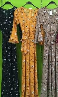 Jumpsuit lily mustard