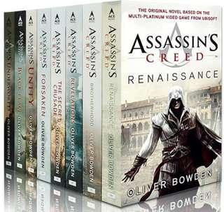 Assasin creed books
