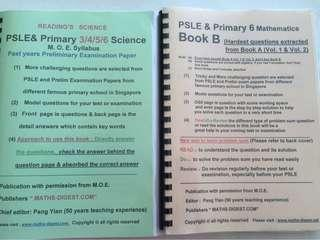 PSLE revision papers